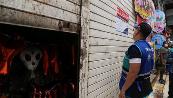 La Municipalidad de Lima indicó que cerca de 200 productos fueron incautados. (Foto: MML)