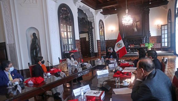 El presidente Francisco Sagasti lideró la última sesión del Consejo para la Reforma del Sistema de Justicia. (Foto: Presidencia Perú)
