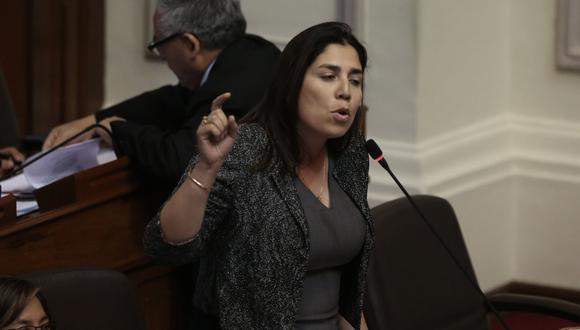 Parlamentaria señaló que no confía en Zavala y su gabinete. (Perú21)
