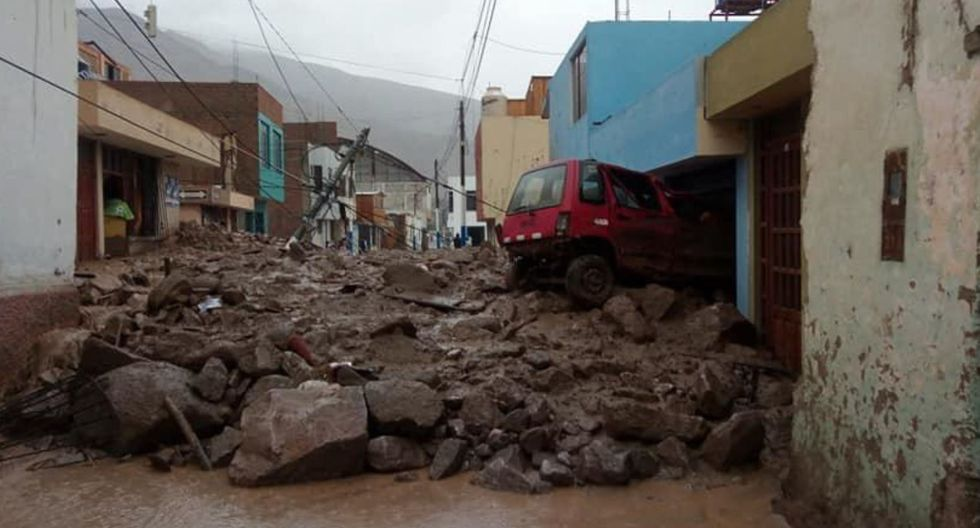 Huaicos en distrito de Aplao deja al menos un muerto y varias viviendas destruidas(Foto: Andina)