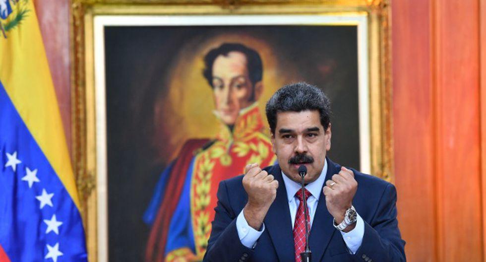 Nicolás Maduro, en el poder desde 2013, se impuso en mayo del año pasado en unas elecciones no reconocidas por buena parte de la comunidad internacional y en las que no participó la oposición. (Foto: AFP)
