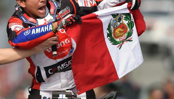 Hernández tuvo que ser remolcado por el mexicano Rómulo Airald para llegar al campamento de Tupiza. (AFP)