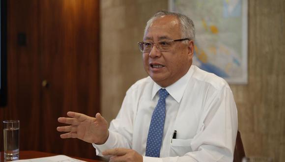Juan Carlos Liu dejó la cartera de Energía y Minas tras conocerse que brindó servicios de consultoría a Odebrecht. (Foto: Eduardo Cavero / GEC)