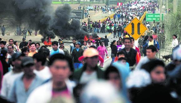 Coronavirus en Perú: Defensoría registró 190 conflictos sociales en el mes de junio (Foto referencial).