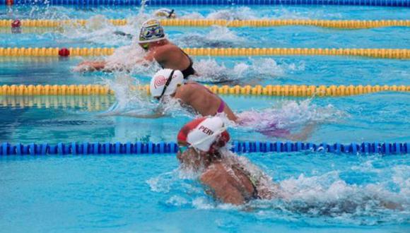 Samantha Bello gana el oro en natación en los Juegos Sudamericanos Escolares. (Difusión/Andina)