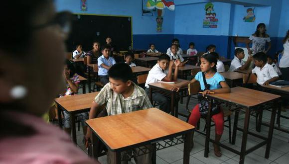 ¿EN PELIGRO? Advierten que excondenados por terrorismo habrían vuelto a las aulas a enseñar. (David Vexelman)