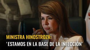 Elizabeth Hinostroza: 'Estamos en la base de la infección'