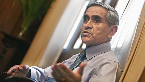 Duberlí Rodríguez. Presidente del Poder Judicial. (Perú21)