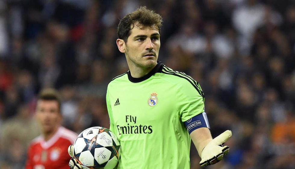 El mensaje de Real Madrid dirigido a Iker Casillas. (Foto: AFP)