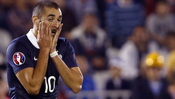 Karim Benzema: Antes del 15 de abril se decidirá si regresa a la selección francesa. (AP)