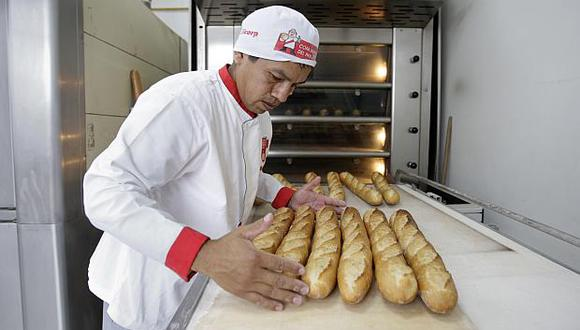 El año pasado, la producción de la industria panadera creció 3.5%. (Foto: USI)