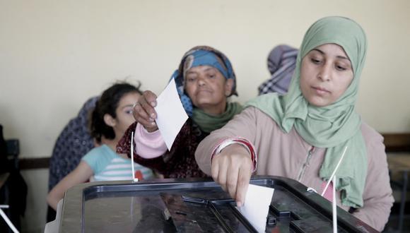 Unos 62 millones de egipcios, de una población total de alrededor de 100 millones, están habilitados para votar. (Foto: EFE)