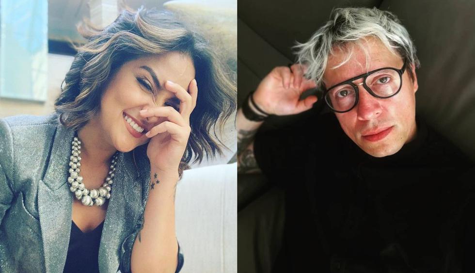 """Daniela Darcourt y Salim Vera se """"amistan"""" en curioso videoclip. (Foto: @danieladarcourtoficial/@salim_veraoficial)"""