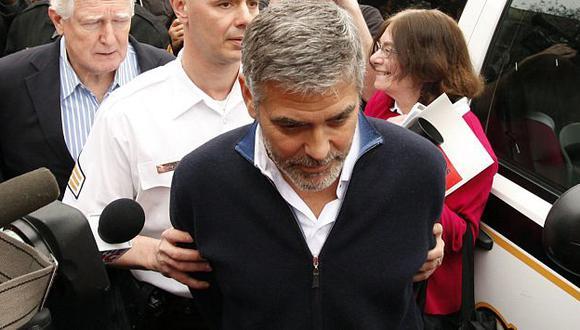 El actor y su padre fueron puestos en libertad tras pagar una fianza. (Reuters)