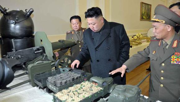 ¿COSA DE JUEGO? El líder norcoreano, Kim Jong-un, no ha dado aún señales de dar marcha atrás. (AFP)