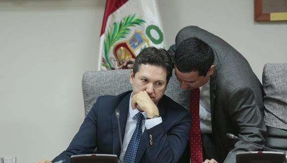 QUE SE INVESTIGUE. Salaverry afirma que es el más interesado en que se esclarezca todo. (Diana Chávez/GEC)