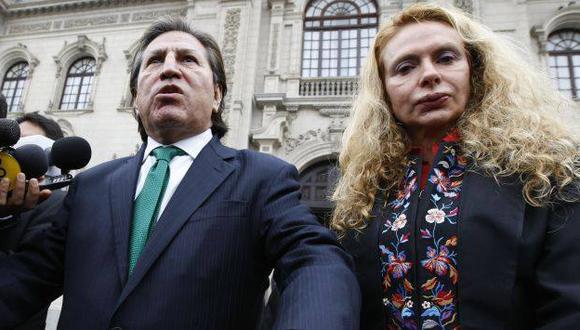 Eliane Karp no dijo nada sobre el paradero de su esposo, el hoy prófugo de la justicia Alejandro Toledo.
