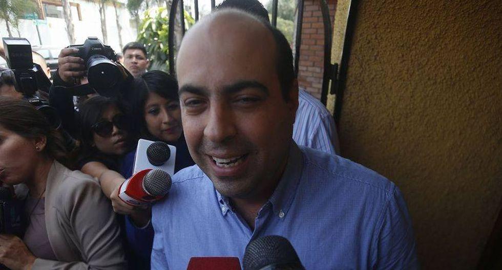 Pedro Spadaro no comparte la opinión de Héctor Becerril. (Renzo Salazar)