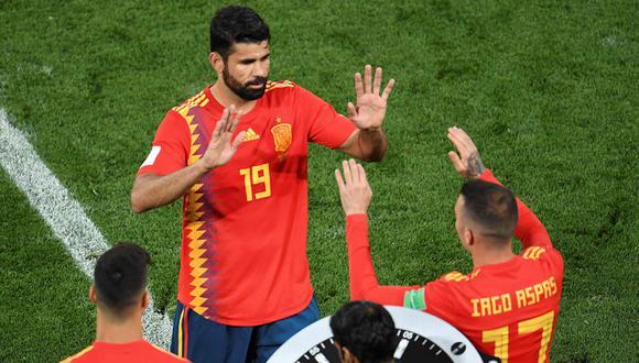 Diego Costa no jugará ante Inglaterra y Croacia. (AFP)