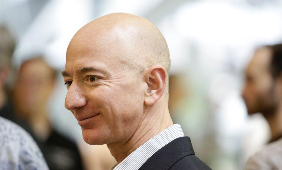 Jeff Bezos, fundador y jefe de Amazon. (Foto: AFP)