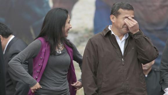 """""""A MEDIAS"""". Humala sostuvo que la obra no había sido concluida. (César Fajardo)"""