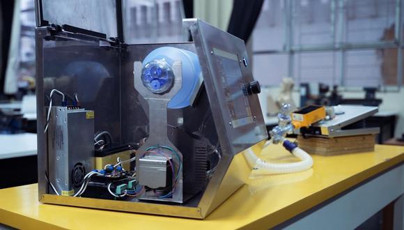55 respiradores mecánicos serán donados por empresa de telefonía al Ministerio de Salud. (Fundación Telefónica)