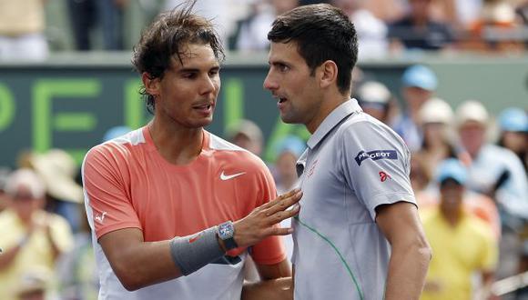 Novak Djokovic se acerca a Rafael Nadal en ranking. (Reuters)