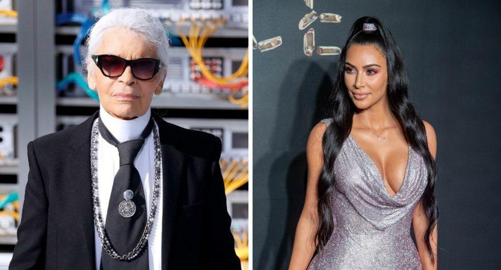 Kim Kardashian lamenta la muerte de Karl Lagerfeld y recuerda su primera sesión de fotos con él (Fotos: AFP)