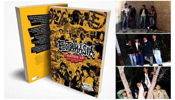 El libro 'Y nosotros ké?' revisa la historia de Eutanasia, uno de los hitos del rock subterráneo.