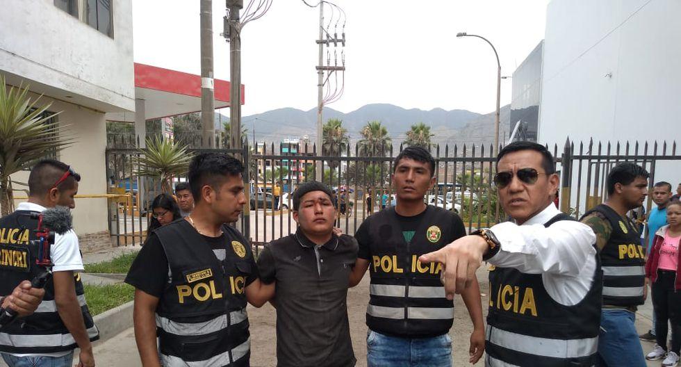 Los delincuentes fueron detenidos por agentes de la Depincri. (PNP)