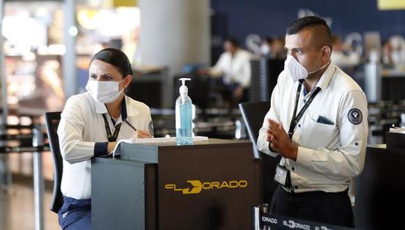El aeropuerto El Dorado de Bogotá ya cuenta con la certificación de la WTTC. Este lunes reabren fronteras.