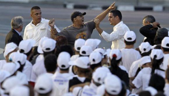 Carrión Álvarez no pertenece a ningún grupo disidente cubano. (AP)
