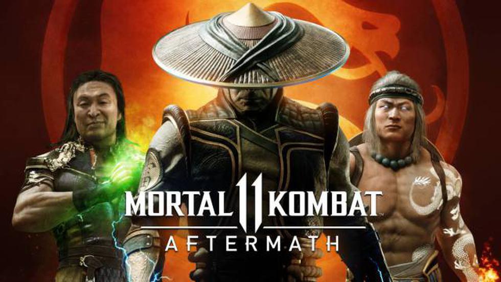 'Mortal Kombat 11: Aftermath' llega a PS4, Xbox One, Nintendo Switch y PC.