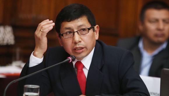 """Trujillo destacó que se ha fijado ya una reunión en Lima para iniciar un """"proceso"""" con el fin de encontrar una solución a esta problemática. (Foto: Andina)"""
