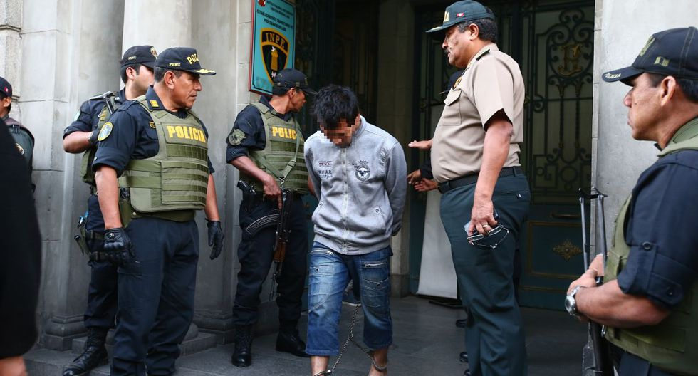 El delincuente fue trasladado a un penal de Lima. (Imagen referencial/GEC)
