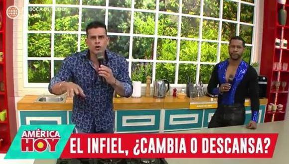 Christian Domínguez hace mea culpa y reconoce que ha sido infiel. (Foto: captura de video)