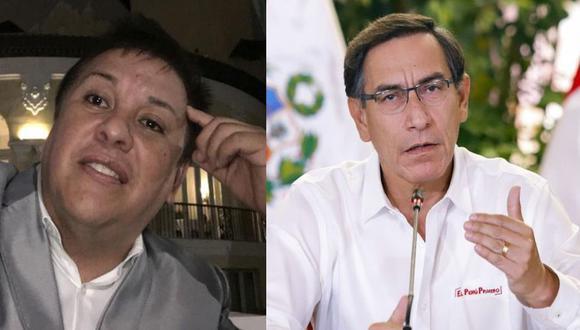 El presidente Martín Vizcarra deberá responder por polémica contratación de Richard Swing. (Facebook/ Richard Swing)