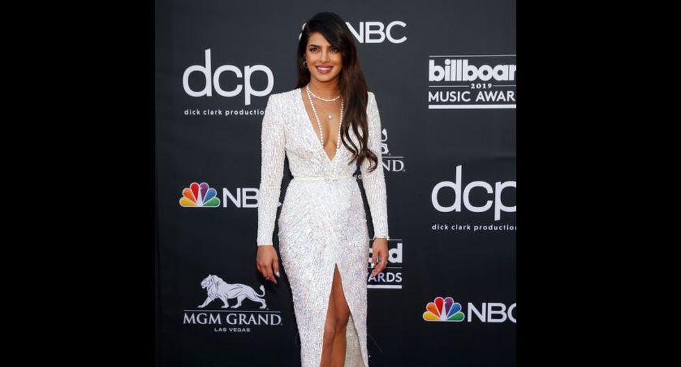 Actriz Priyanka Chopra en Billboard Music Awards 2019. (Reuters)