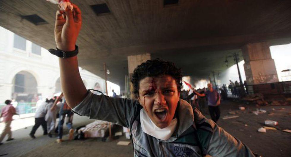 EGIPTO SANGRA. Las manifestaciones de los grupos musulmanes continuarían todavía esta semana. (Reuters)