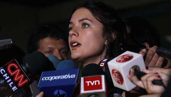 La activista también criticó la actuación de los carabineros en las protestas. (