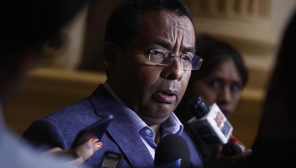 El legislador explicó que su viaje se debe a una invitación para participar en un evento de la Universidad de Indianápolis. (Foto: GEC)