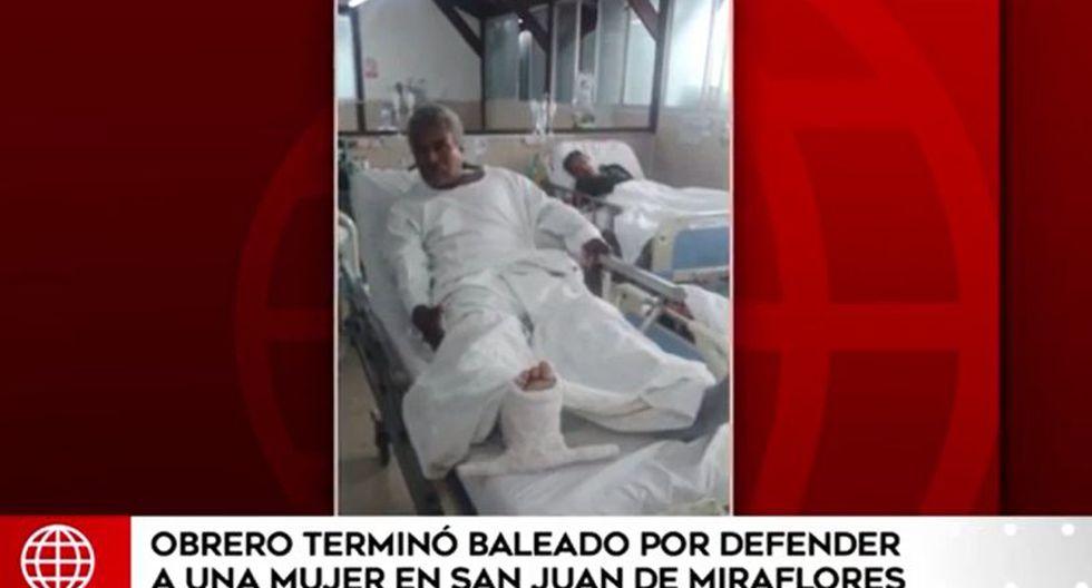 Los testigos confirmaron que Carlos Martín Arias Valencia salió en defensa de la mujer. En el informe periodístico se señaló que el agresor aún no ha sido detenido. (América Noticias)
