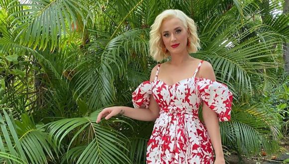"""Katy Perry anunció la fecha de lanzamiento de su quinto disco, """"Smile"""". (Foto: Instagram)"""