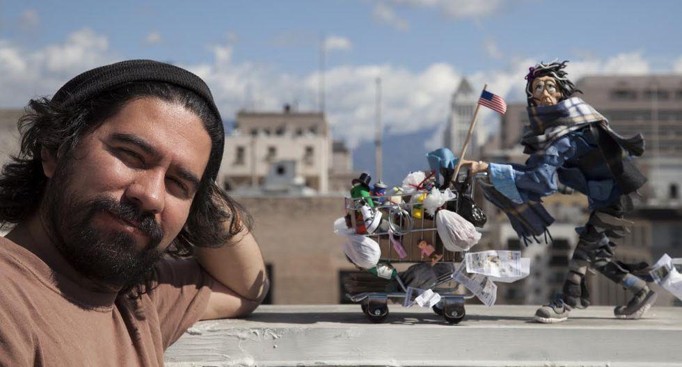 Edgar Humberto Álvarez se hizo conocido en Perú por retratar la valentía de Evangelina Chamorro y su lucho contra el Niño Costero. (Fotos: Difusión)