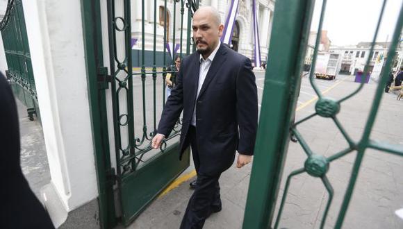 Investigado. Según peritos, Ilan Heredia habría hecho anotaciones en las agendas de su hermana. (Mario Zapata)