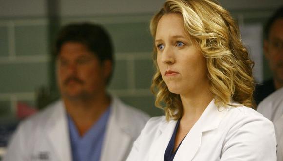 """La actriz Brooke Smith interpretó a Erica Hahn en """"Grey's Anatomy"""", una cirujana cardiotorácica y rival desde hace mucho tiempo de Preston Burke (Isaiah Washington) (Foto: ABC)"""