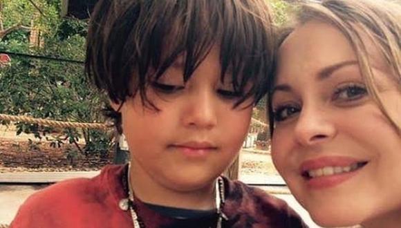 Gabriela Spanic junto a su pequeño, el gran amor de su vida (Foto: Instagram)