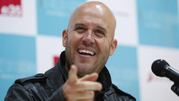 Gian Marco Zignago sería 'coach' en 'La voz Perú'. (Luis Gonzales)