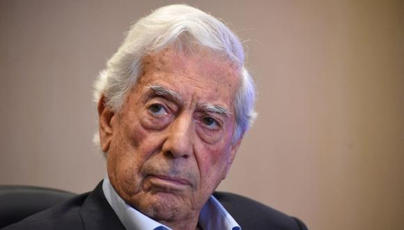 El escritor peruano y premio Nobel de Literatura, Mario Vargas Llosa. (Foto de ORLANDO ESTRADA / AFP).