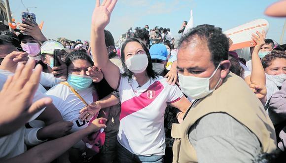 Piden medidas. Fiscalía cree que hay riesgo en viaje de candidata para participar en foro en Ecuador. Fotos: Leandro Britto / GEC